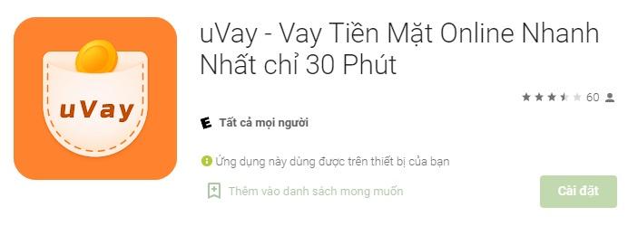 vay tiền uvay
